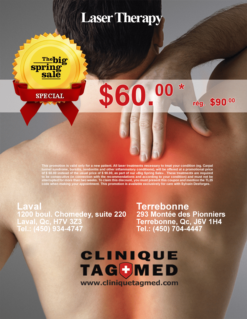 big spring sale 2016 – laser therapy
